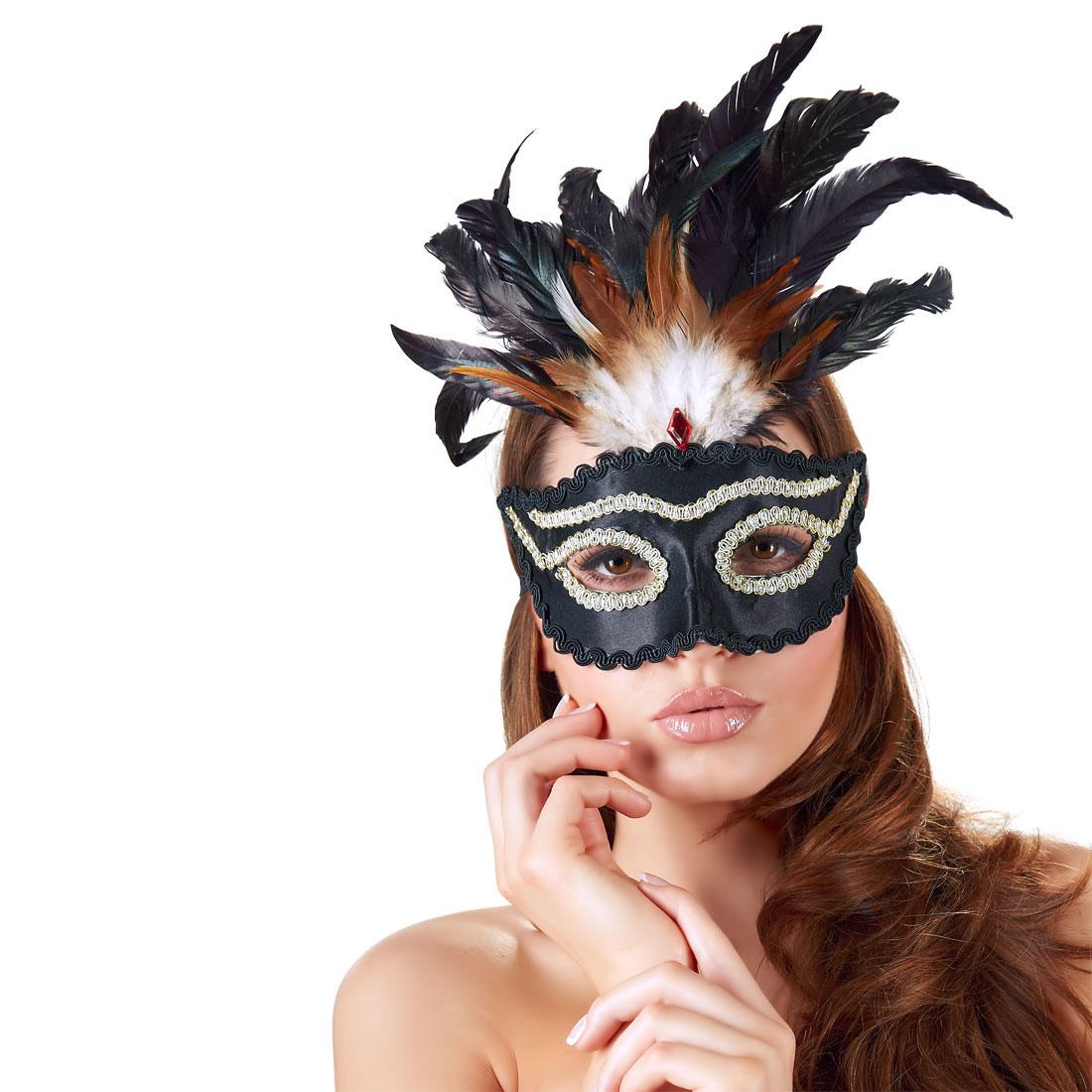Maska Venecija Perje