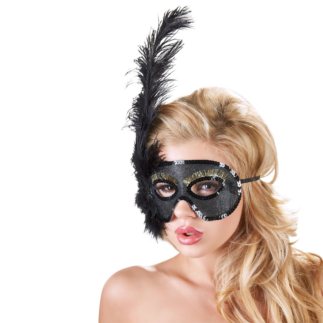 Maska Venecija Pero
